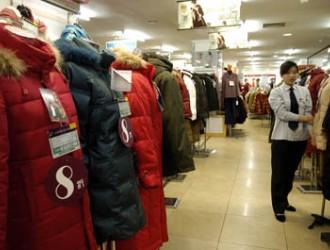 今年冬装销售下滑 羽绒服库存量高达70%