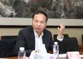 全国库存折扣商品专业委员会副会长、越美集团有限公司董事长徐志明讲话