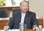 中国物流与采购联合会顾问、原国内贸易局副局长丁俊发讲话