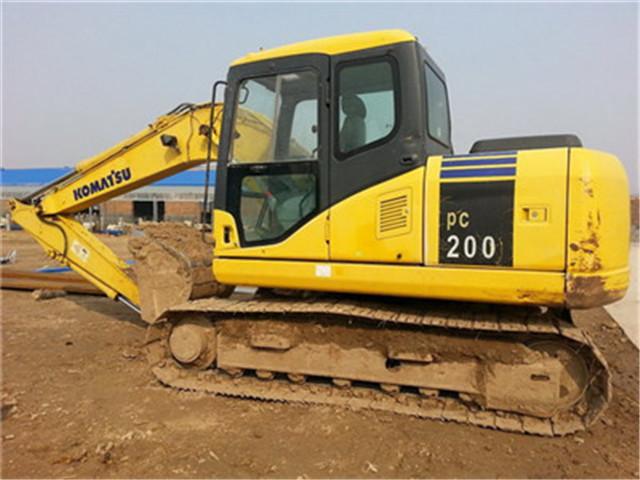 二手小松200挖机公司 优质的二手挖机