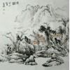 张立君中国画山水画【清韵】