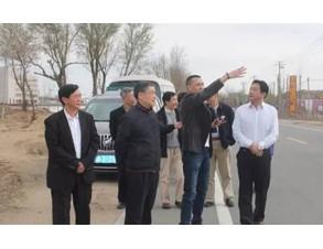 张志刚部长一行考察能建公司