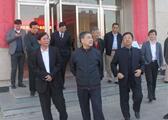 考察内蒙古能建物产有限公司