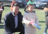 国资委协会党建工作局张涛局长出席捐助慰问活动