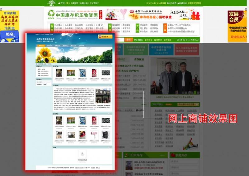 01网上商铺样式图